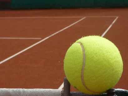 Die Tennisplätze sind fertiggestellt